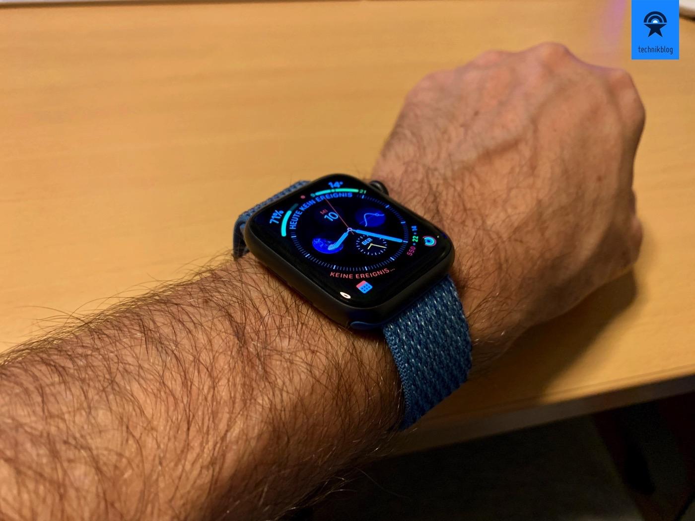 Apple Watch Series 4 Test
