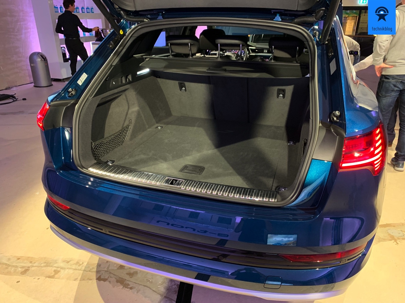 Kofferraum und Platzverhältnisse im e-tron