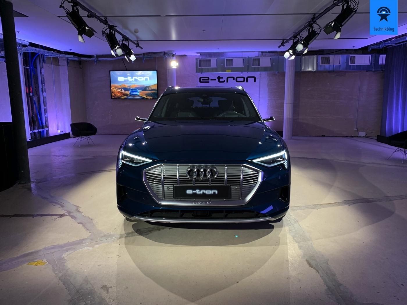Audi e-Tron von vorne