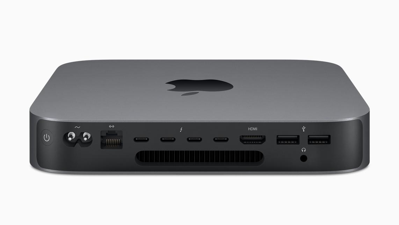 Mac Mini (2018) Anschlüsse