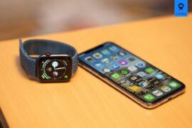 Meine beiden täglichen Begleiter: Apple Watch Series 4 und iPhone Xs