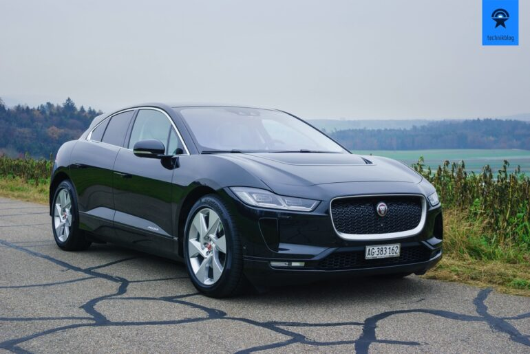 Jaguar I-Pace Review im Technikblog