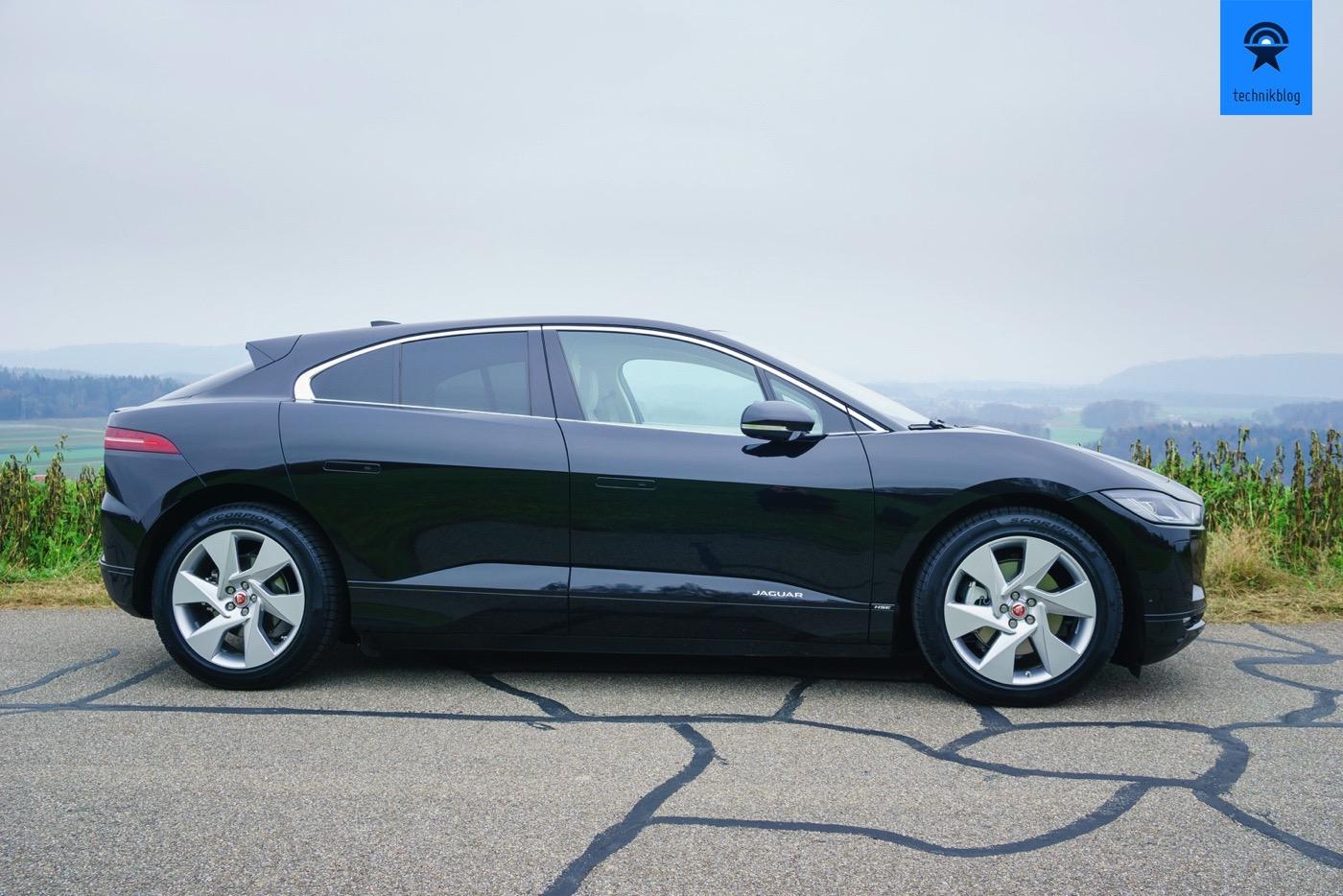 Jaguar I-Pace Seiteansicht