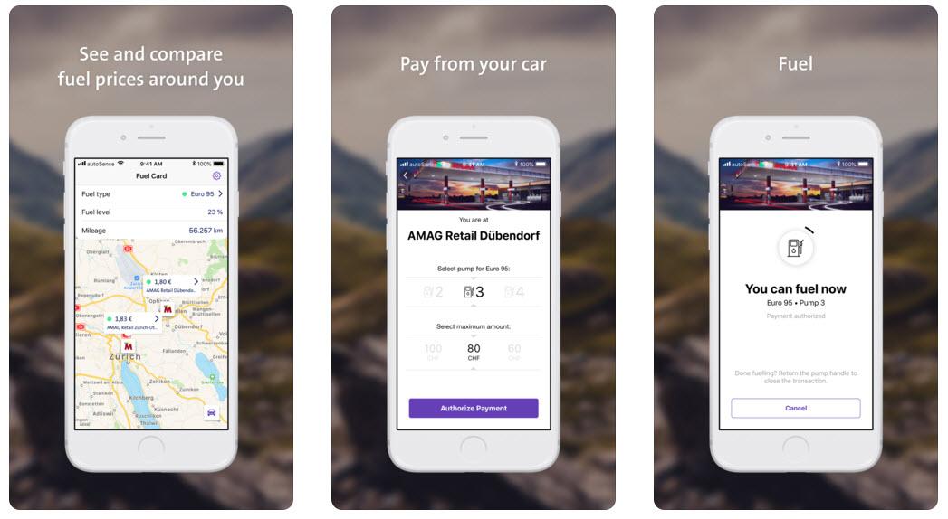Autosense Fuelcard - einfach Tanken mit der App