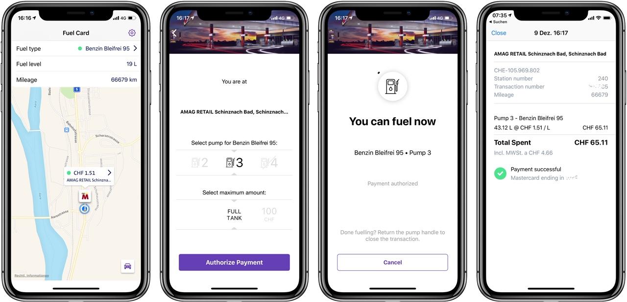 Fuel Card von Autosense getestet