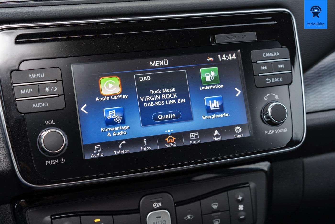 Nissan Leaf Display
