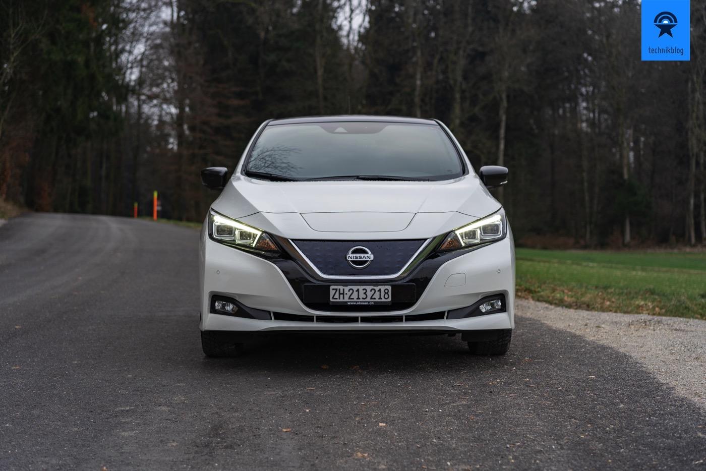 Nissan Leaf Frontansicht