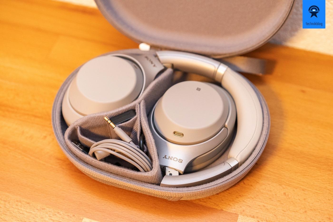 Der perfekte Reise- und Bürokopfhörer mit Noise Cancelling: Sony WH-1000XM3