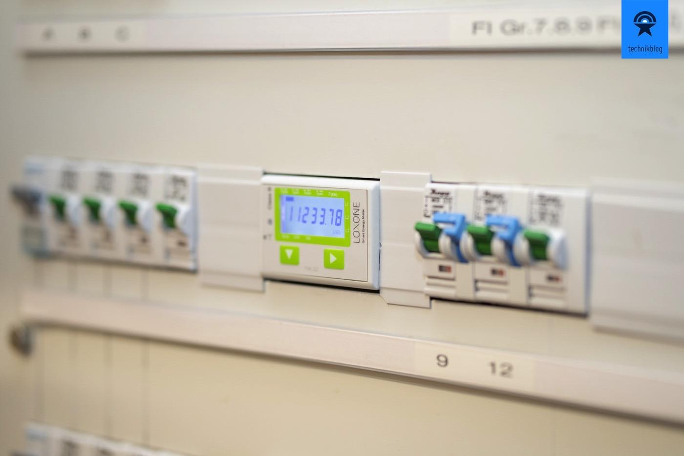 Technikblog Loxone Energiemessungen