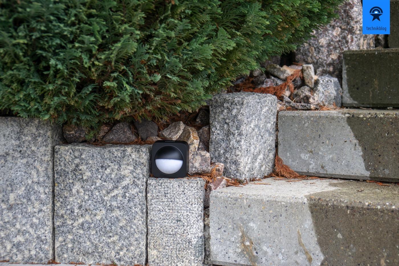 Testsetup für den Hue Outdoor Sensor