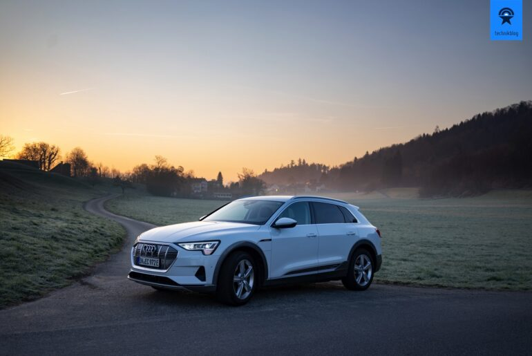 Audi e-tron quattro Test