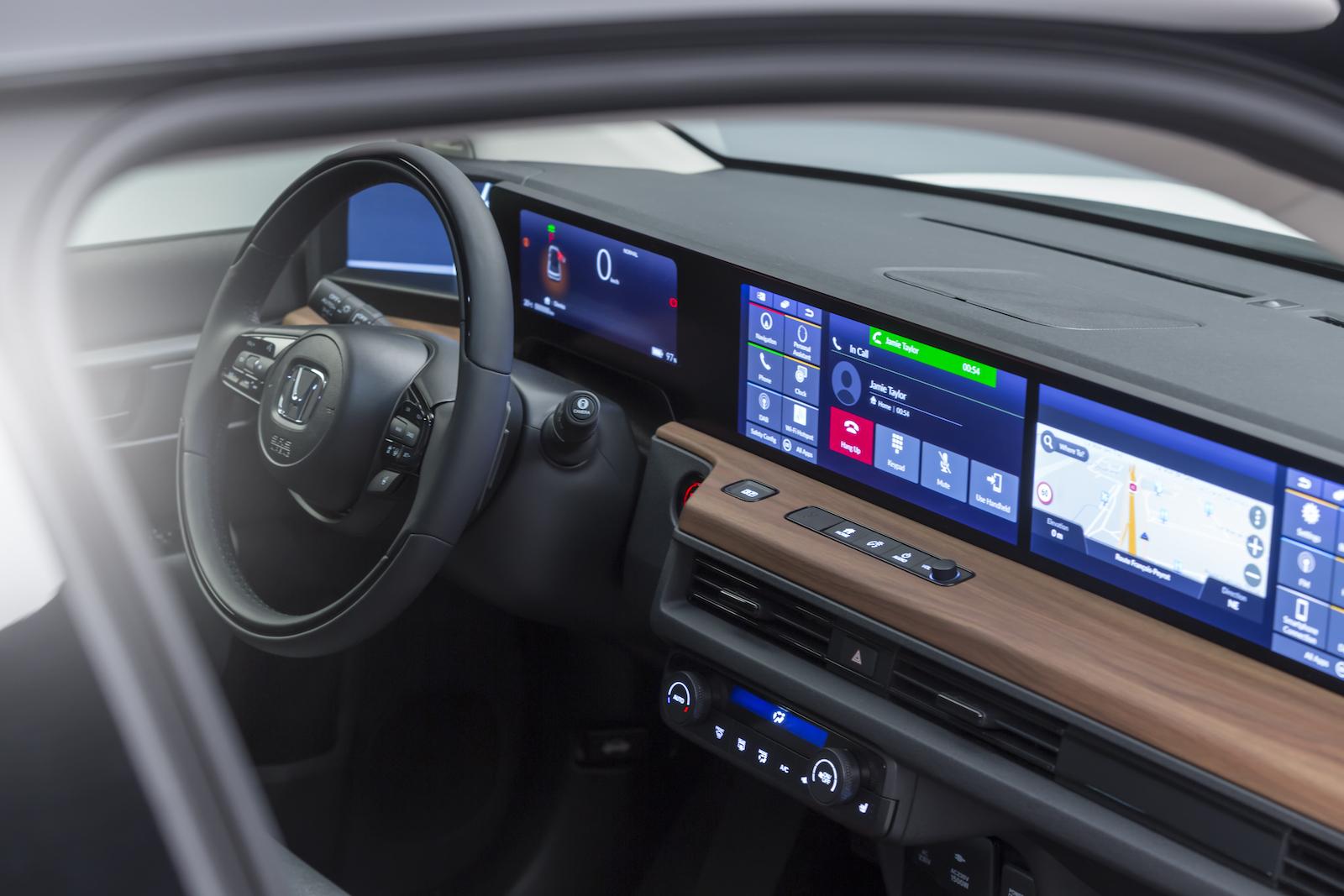 Honda E Innen
