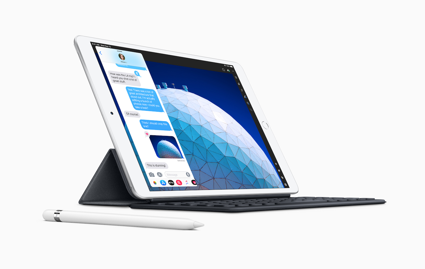 iPad Air mit Smart Keyboard