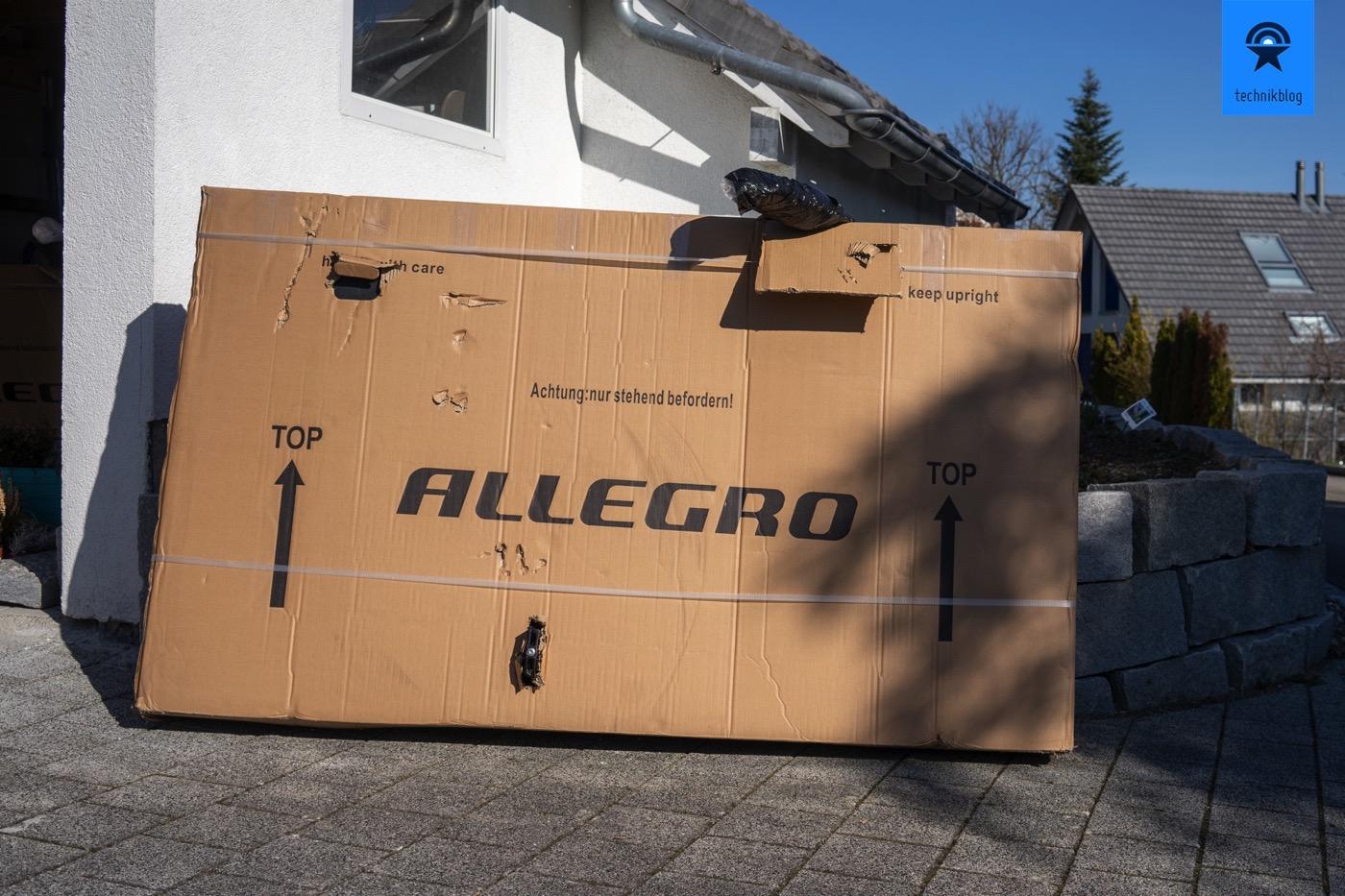 Allegro E-Bike Versand