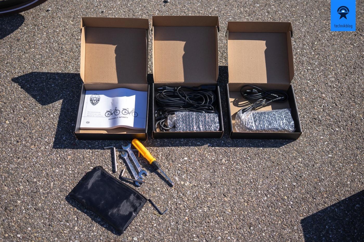 Allegro E-Bike Zubehör: Ladegeräte und Werkzeug