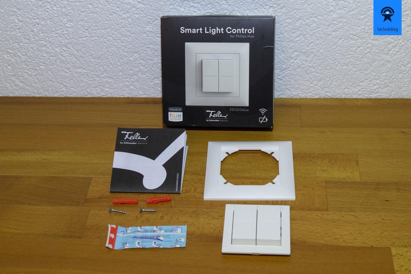 Lieferumfang des Feller Smart Light Control