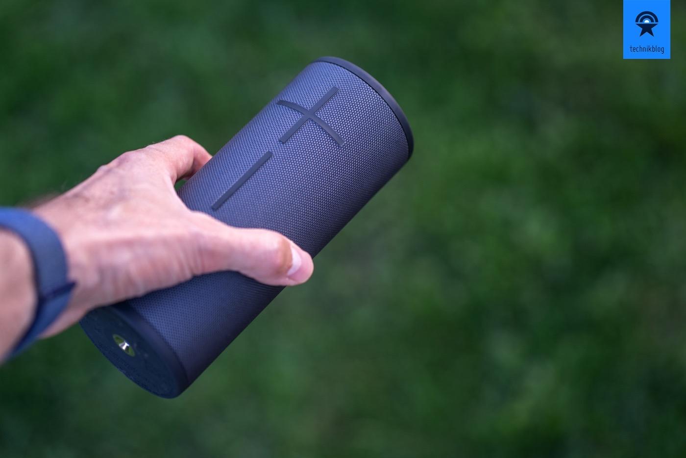 UE Boom 3: robuster Lautsprecher für Draussen