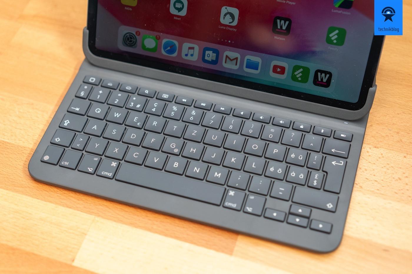 Logitech Slim Folio Pro Tastatur
