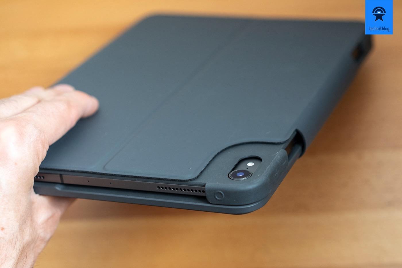 Das Slim Folio Pro schützt das iPad Pro sehr gut.