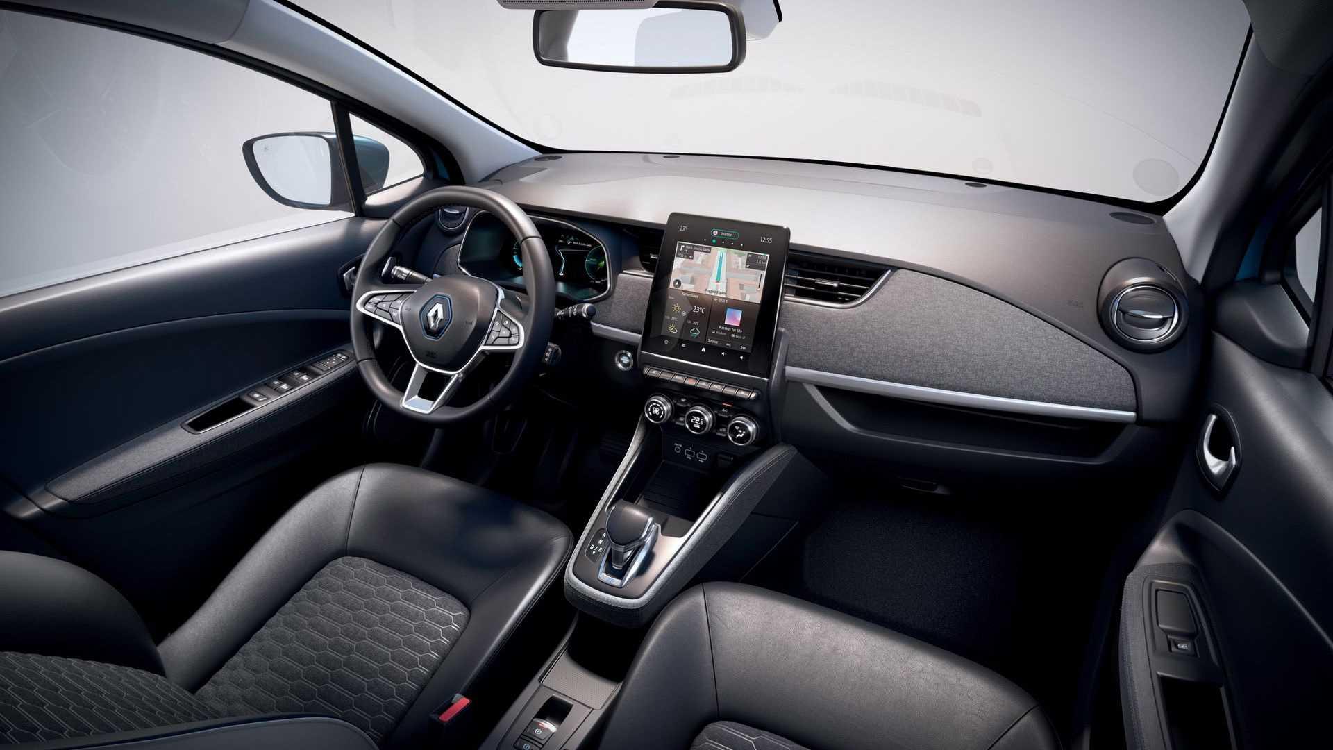 Interieur des neuen Renault Zoe 50