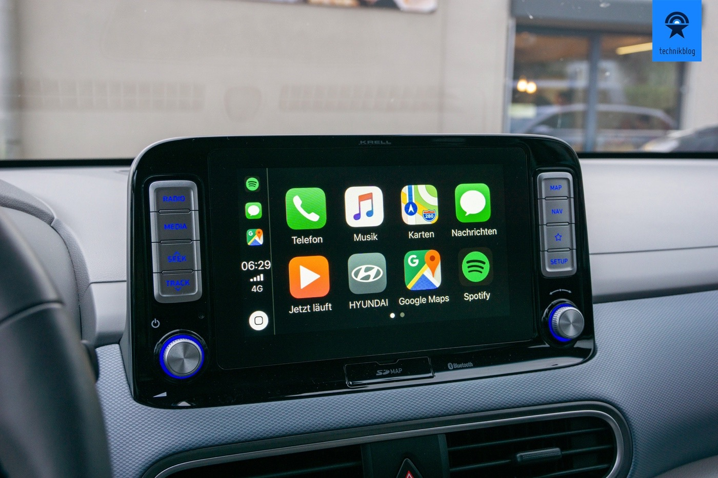 Apple Carplay im Hyundai Kona EV