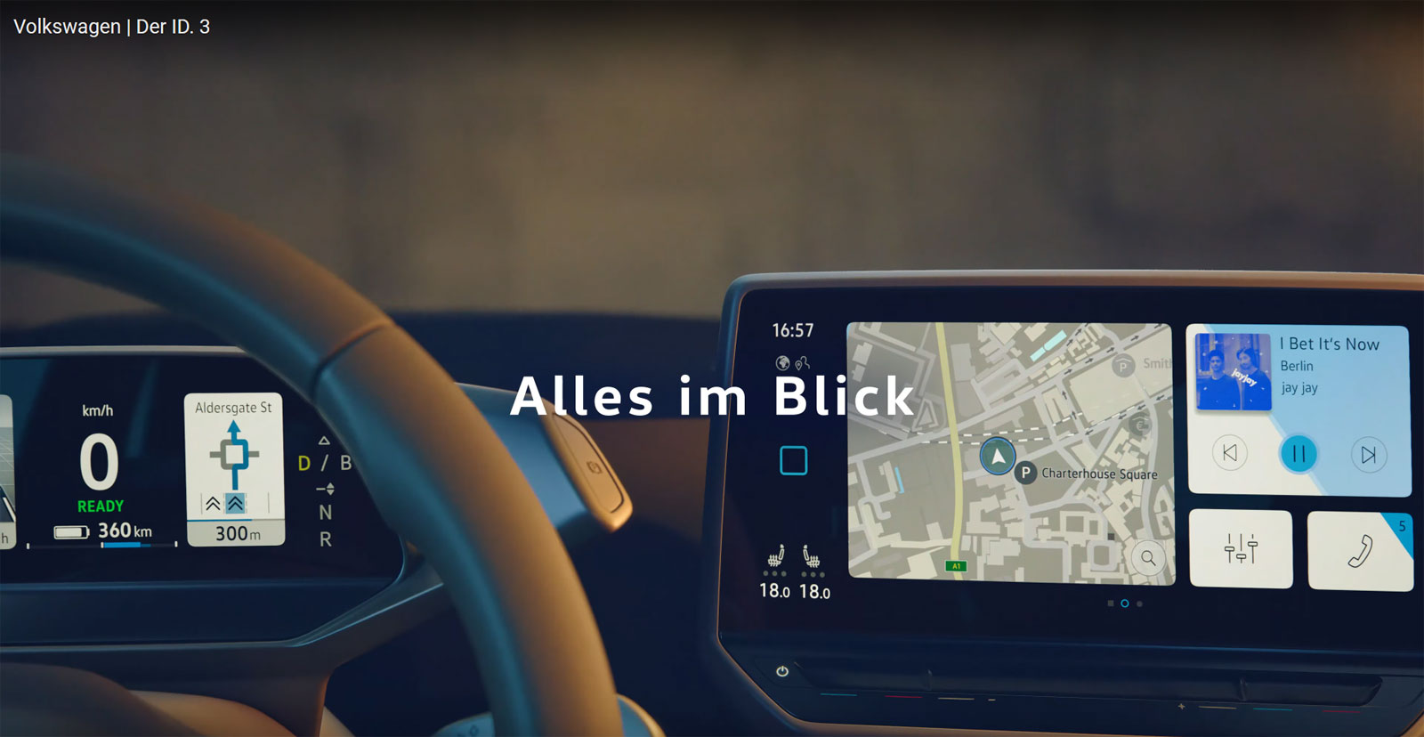 VW ID.3 Cockpit Leak