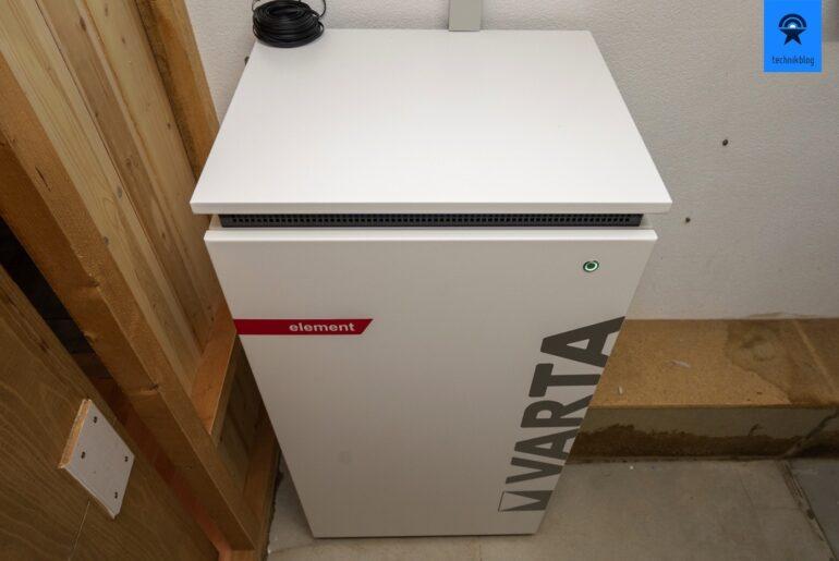 Varta Element 12 in Betrieb