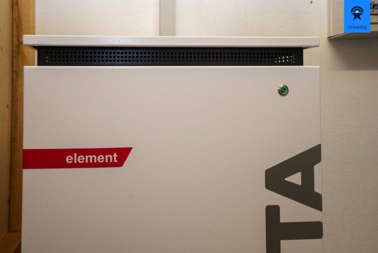 Varta Element 12 nachgerüstet