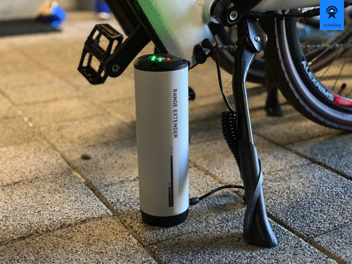 e-Bike Range Extender im Einsatz