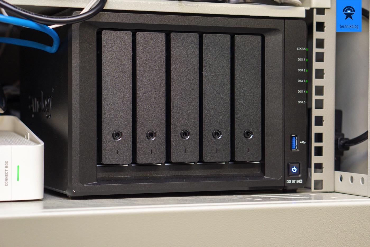 Meine Datenablage für OCR Scanning: Synology Diskstation