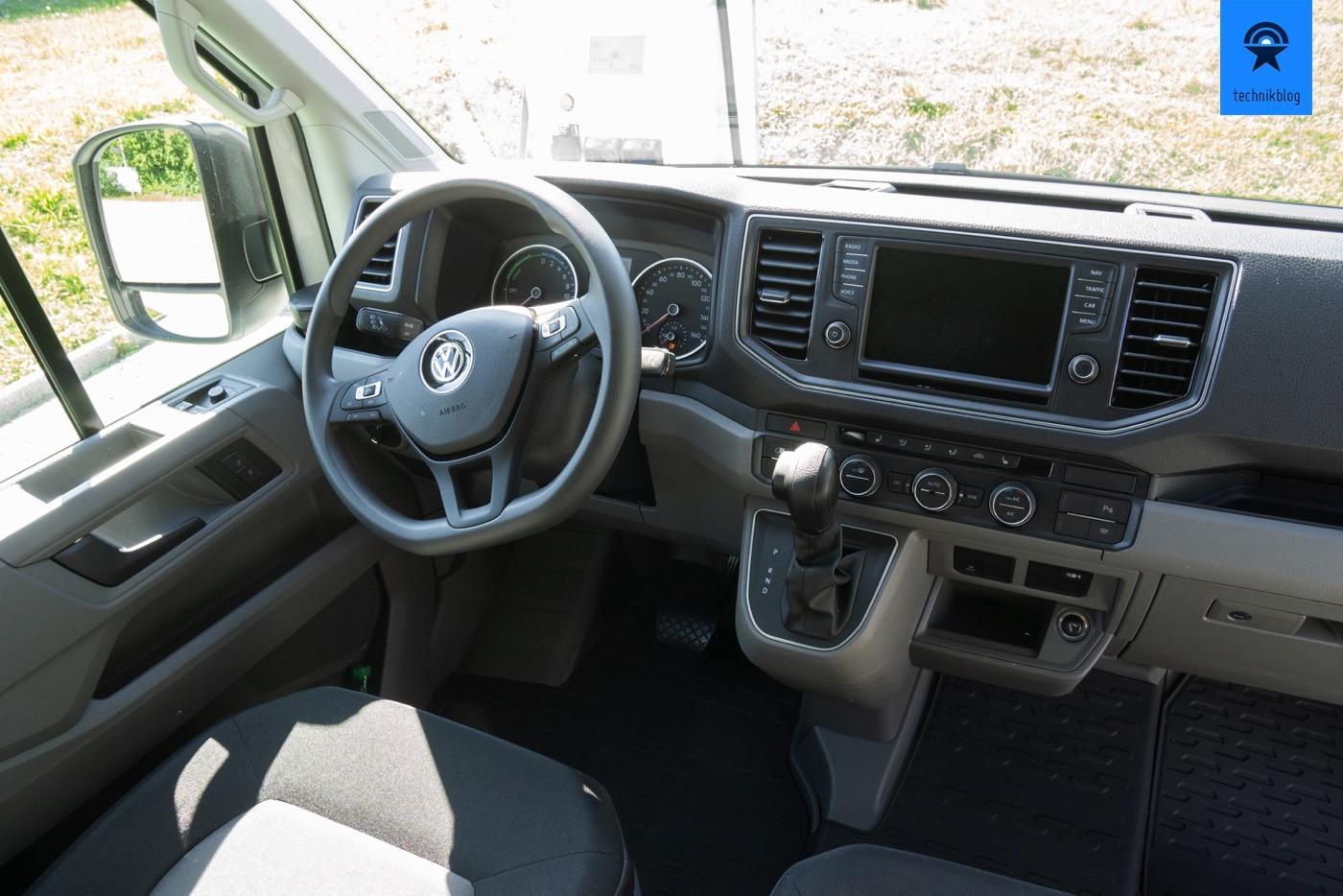 VW e-Crafter Cockpit