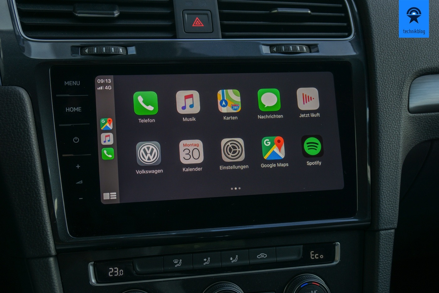 Apps in Apple Carplay auf iOS 13