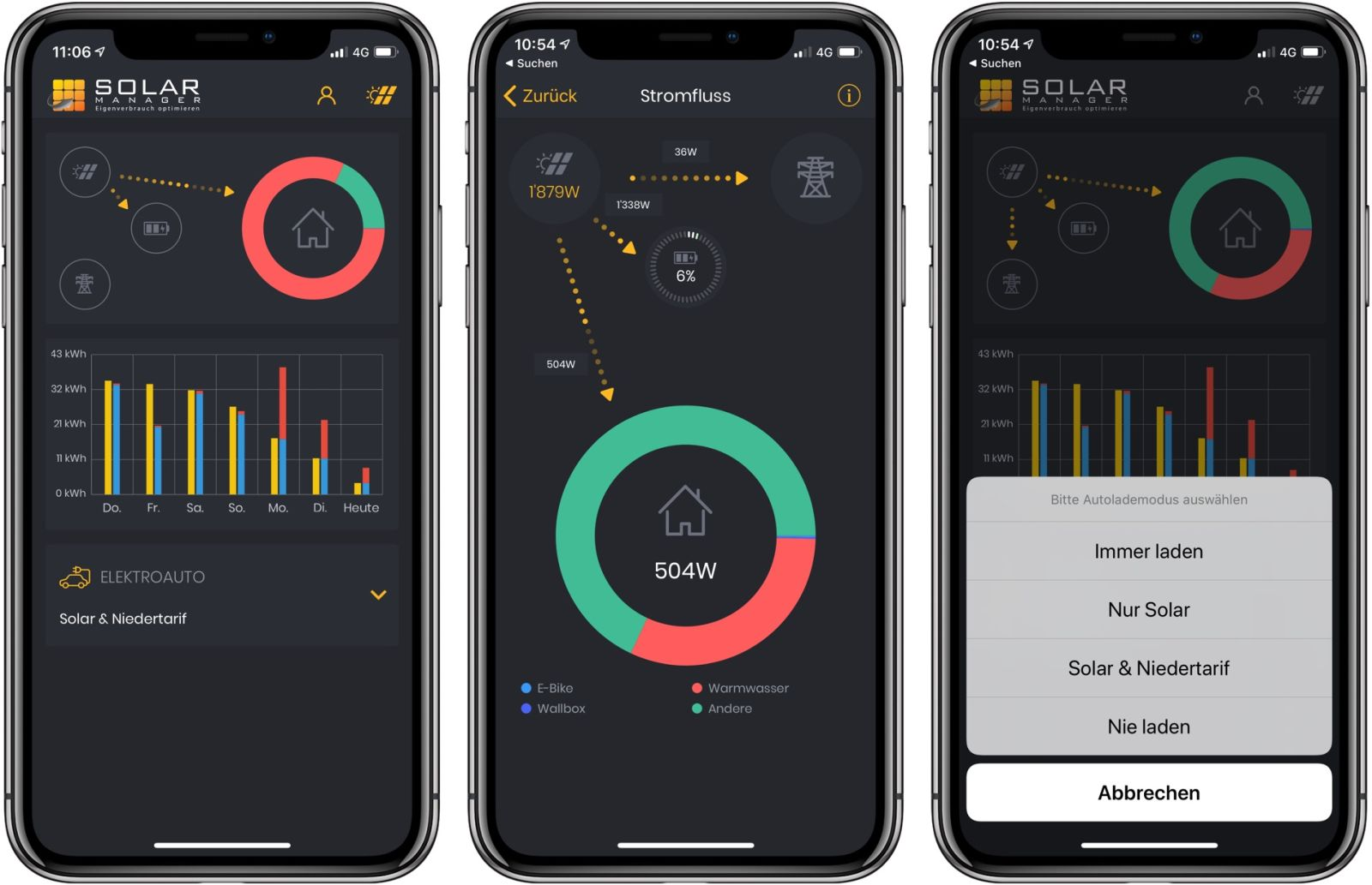Solar Manager App