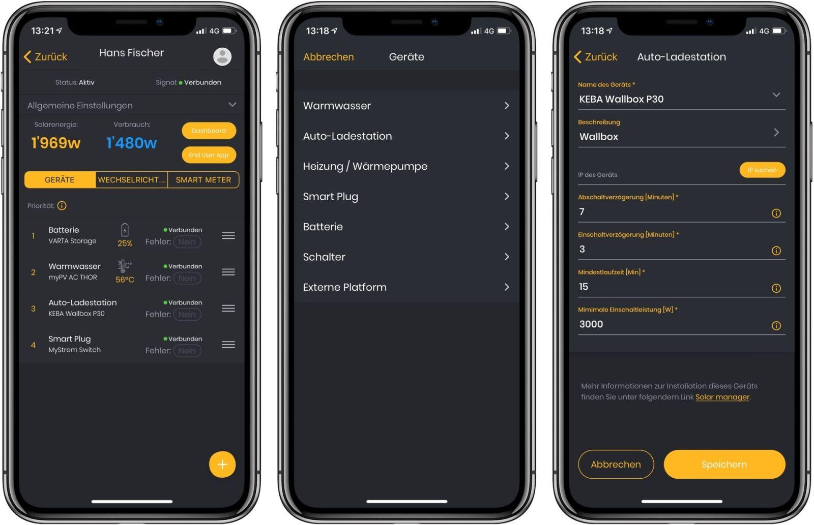 Solar Manager - Einrichtung in der Installer App