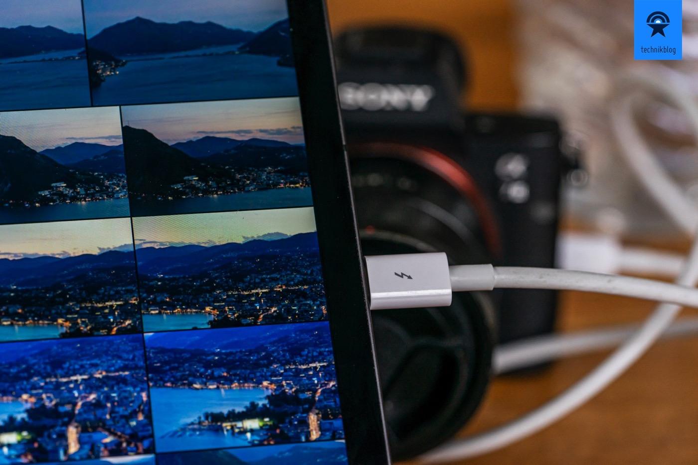 Foto Workflow mit dem iPad Pro