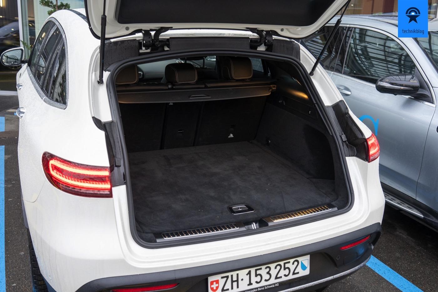 Kofferraum Mercedes EQC