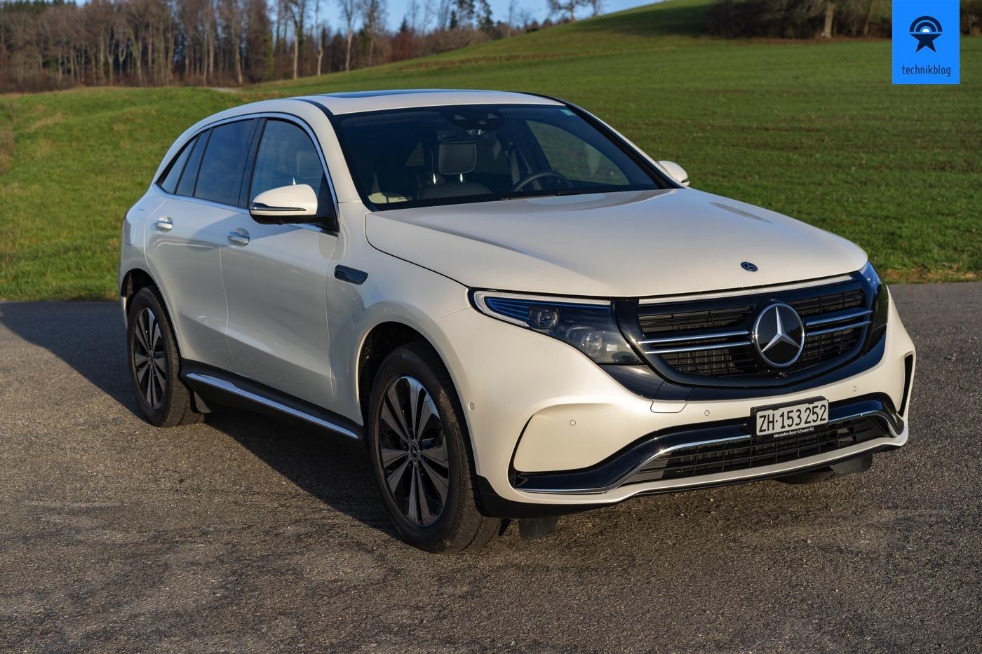 Mercedes EQC Fahrbericht