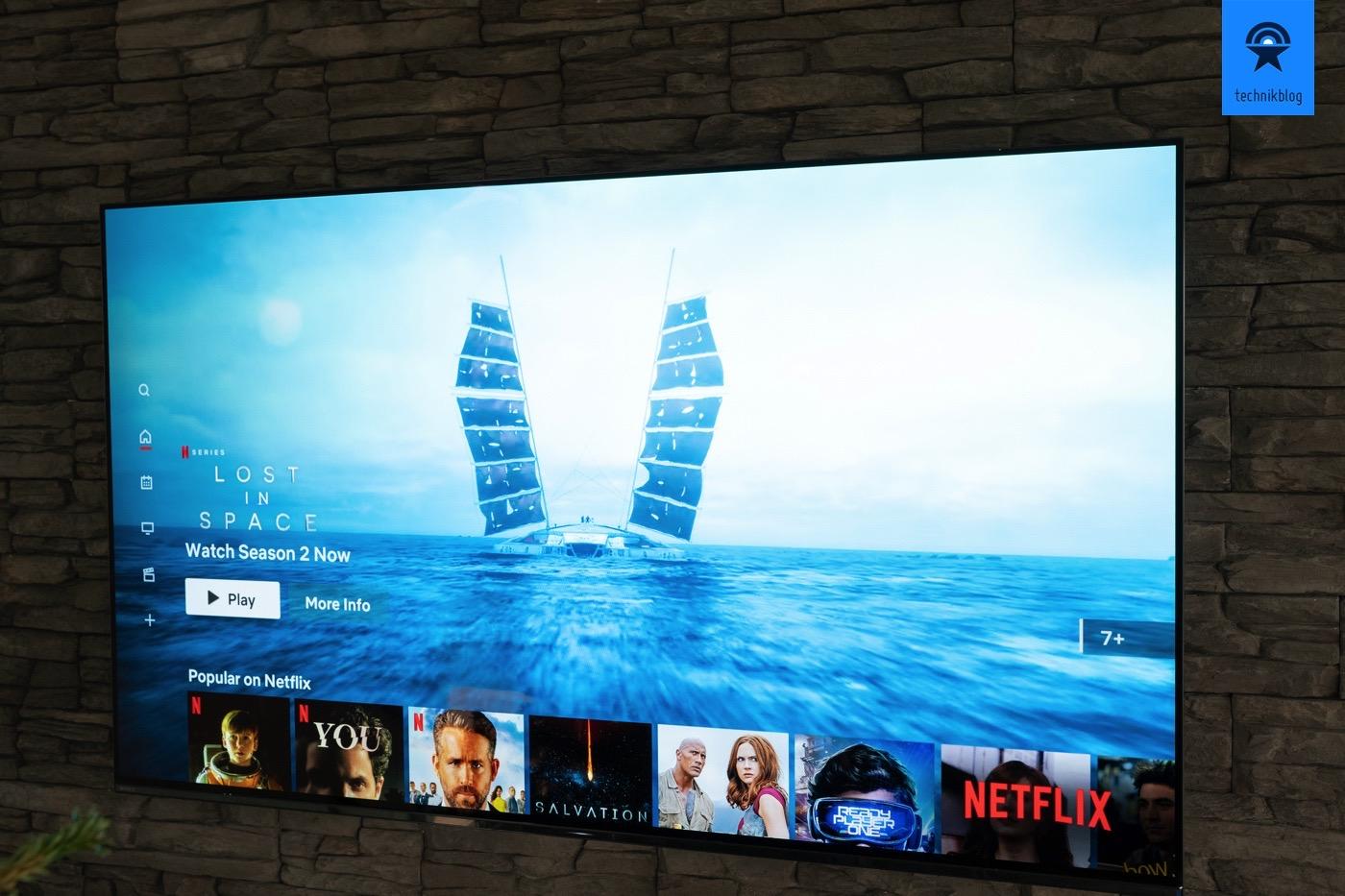 Netflix auf dem Sony AG9