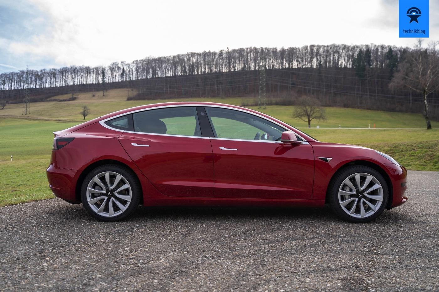 Tesla Model 3 SR+ im Test