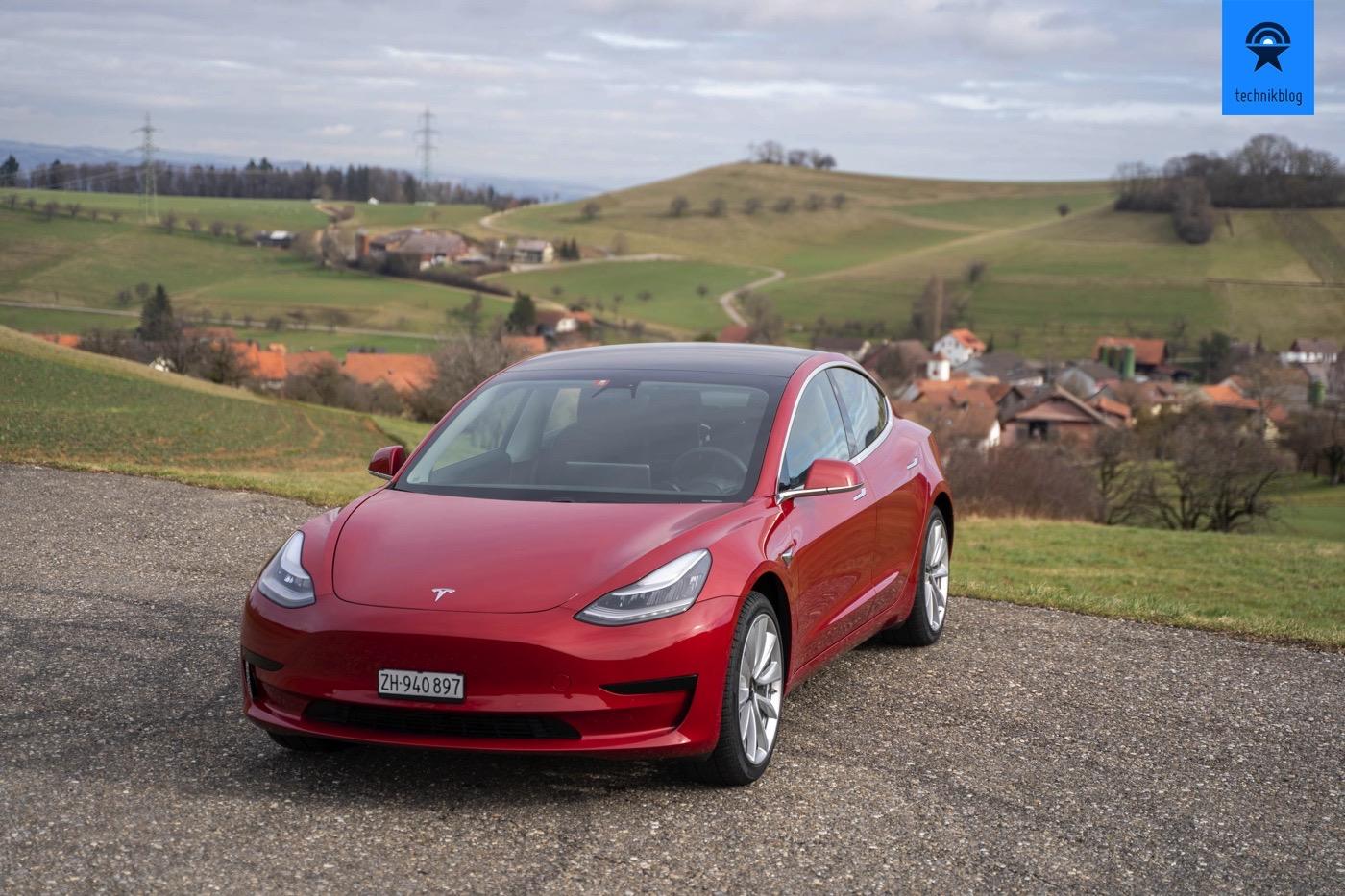 Tesla Model 3 SR+ im Alltagstest