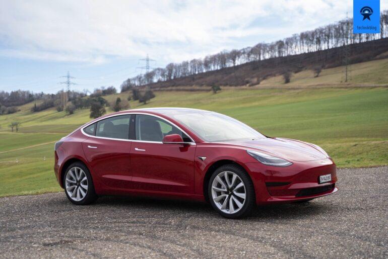Tesla Model 3 SR+ Test