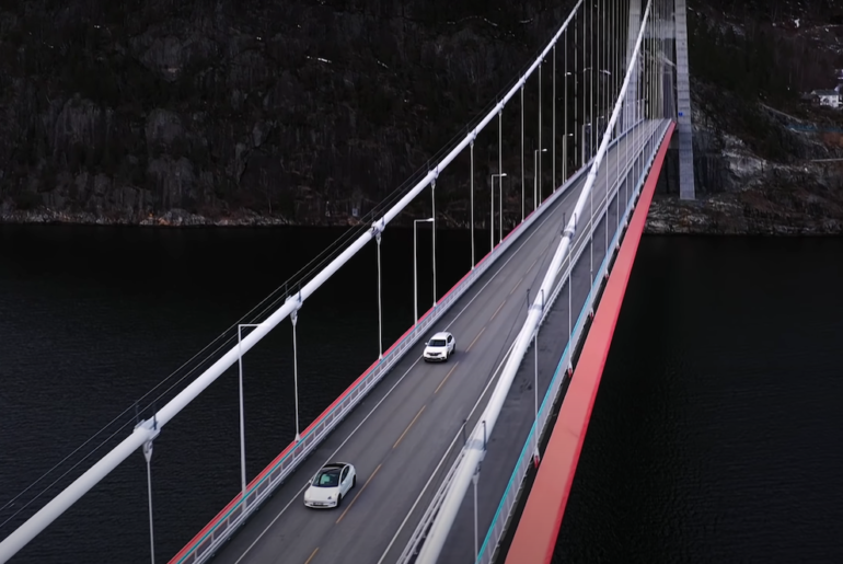 Tesla Model 3 vs. Diesel-SUV vs. Nordkap im Winter! (Dokumentation) (Bilder von @felixba) - 2