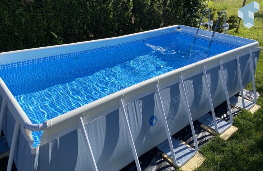 Den Sommer im eigenen Pool geniessen