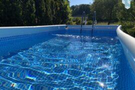 Intex Pool im Garten