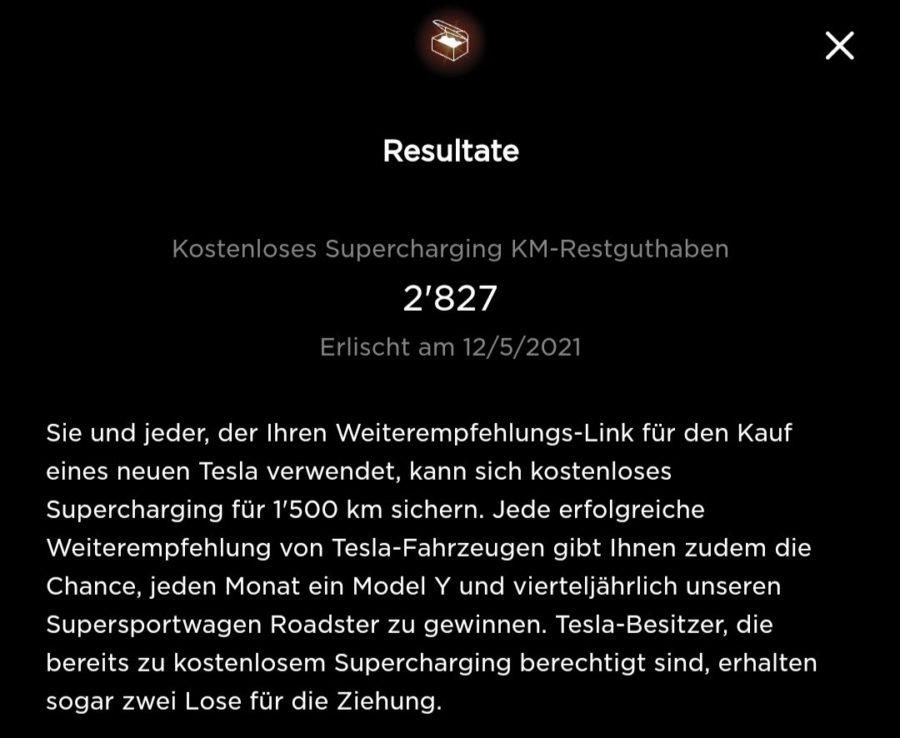 Tesla Kilometerguthaben durch Referrals