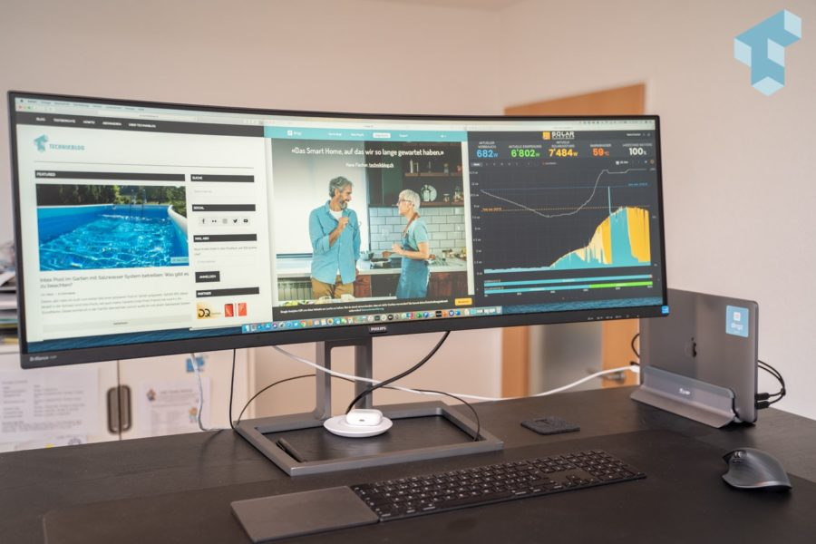 "Philips 43"" Ultra-Widescreen Monitor"