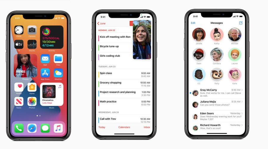 iOS 14 Screenshots