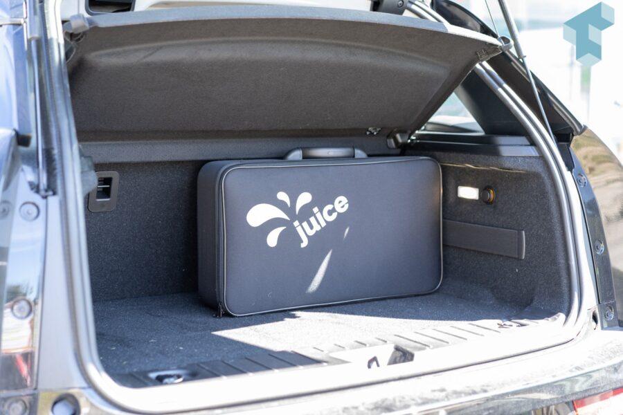 Juice Booster 2 im praktischen Koffer