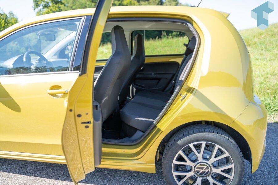 VW e-up! Rücksitze