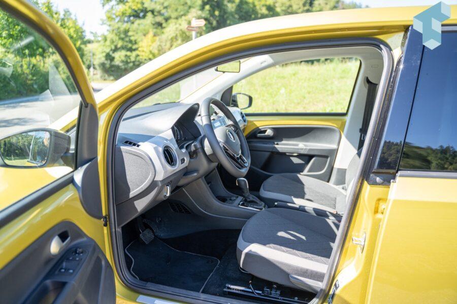 VW e-up! Vordersitze